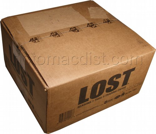 Lost Seasons 1 Thru 5 (1-5) Trading Cards Box Case [12 boxes]
