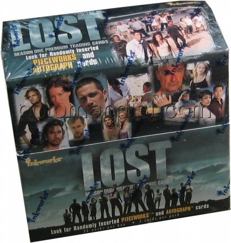 Lost Season 1 Trading Cards Box