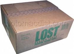 Lost Season 3 Premium Trading Cards Box Case [10 boxes]