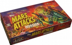 Mars Attacks Invasion Trading Cards Box [Hobby]