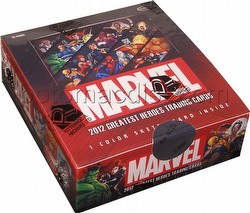 Marvel 2012 Greatest Heroes Trading Cards Box