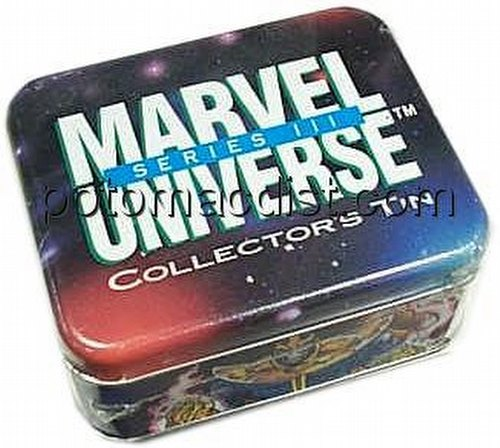 Marvel Universe Series 3 Trading Cards Tin Set
