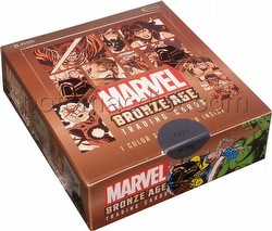 Marvel Bronze Age (1970-1985) Trading Cards Box