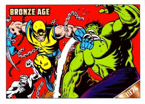 Marvel Bronze Age (1970-1985) Trading Cards Binder Case [4 binders]