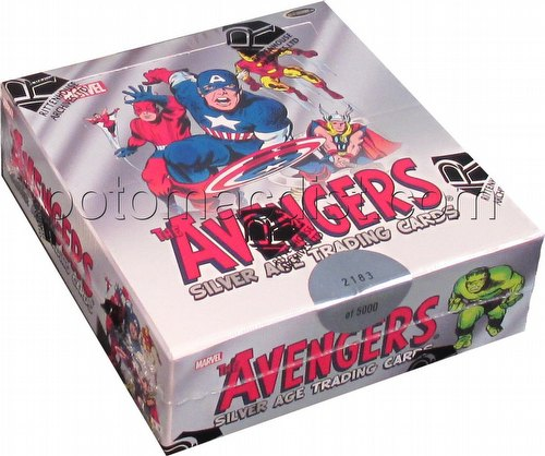 Marvel: The Avengers Silver Age Trading Cards Box
