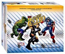 2015 Marvel Fleer Retro Trading Cards Box