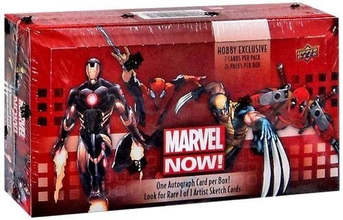 Marvel Now! Trading Cards Box