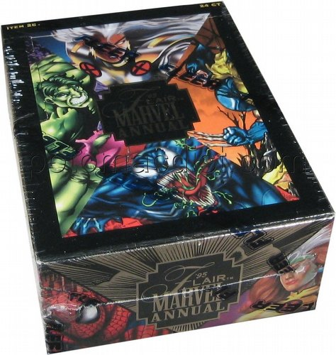 Marvel Flair Annual 1995 [95] Trading Cards Box