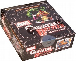 Marvel Greatest Battles Trading Cards Box
