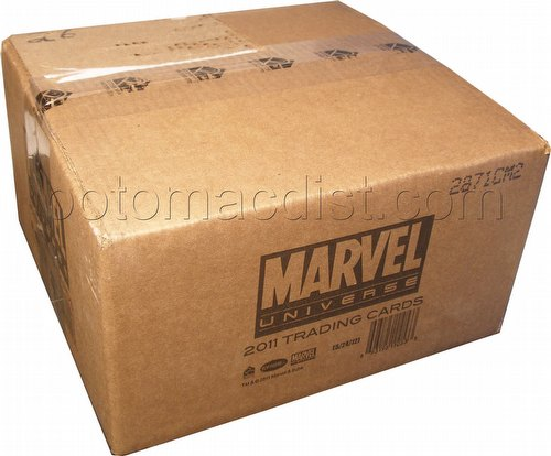Marvel Universe 2011 Trading Cards Box Case [12 boxes]