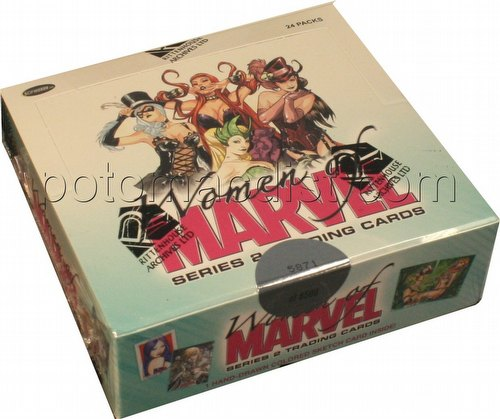 The Women of Marvel Series 2 Trading Cards Box