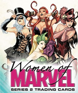 The Women of Marvel Series 2 Trading Cards Box Case [12 boxes]