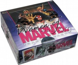 The Women of Marvel Trading Cards Box