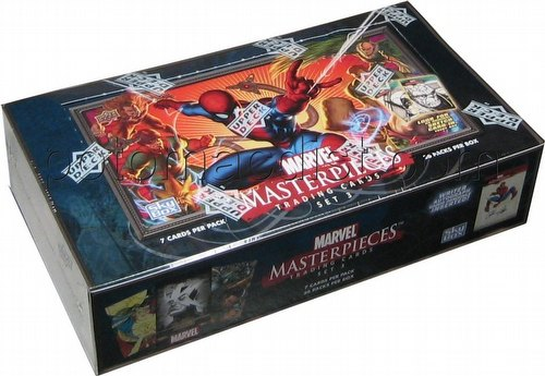 Marvel Masterpieces Series 3 Trading Cards Box [2008/Upper Deck]