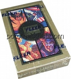 Marvel Masterpieces 1994 [94] Trading Cards Box
