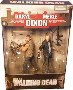 McFarlane Walking Dead TV Series 4 The Dixon Brothers Figure 2-Pack