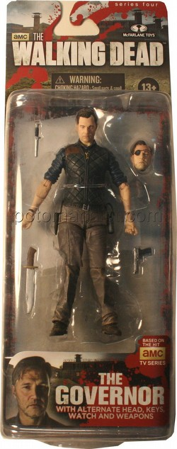 McFarlane Toys Walking Dead TV Series 4 The Governor Figure