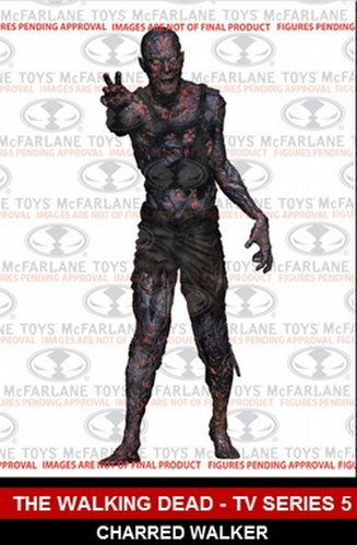 McFarlane Toys Walking Dead TV Series 5 Charred Walker Figure