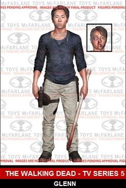 McFarlane Toys Walking Dead TV Series 5 Glenn Rhee Figure
