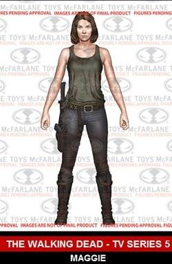 McFarlane Toys Walking Dead TV Series 5 Maggie Figure