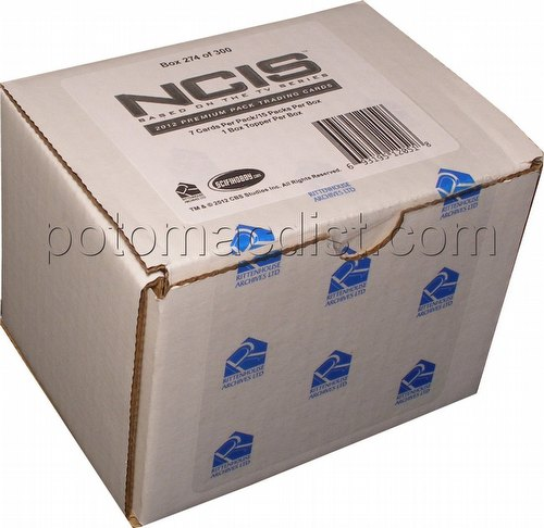 NCIS 2012 Premiere Edition Premium Pack Trading Cards Box