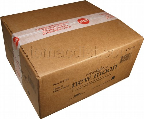 Twilight New Moon Trading Cards Box Case [10 boxes]
