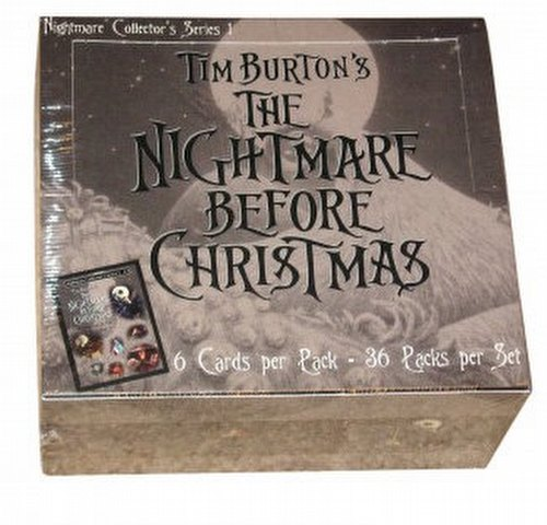 Nightmare Before Christmas Nightmare Coll Series 1 Box