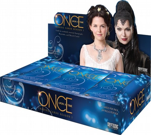 Once Upon A Time Season 1 Trading Cards Box