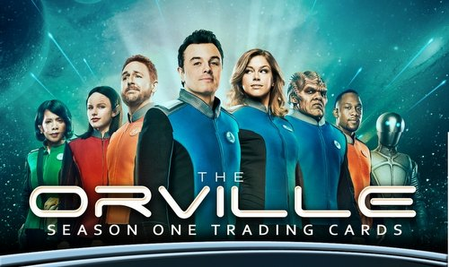 The Orville Season One Trading Cards Binder Case [4 binders]