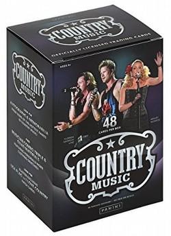 Panini Country Music Blaster Box [Retail/2014]
