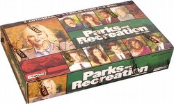 Parks and Recreation Trading Cards Box