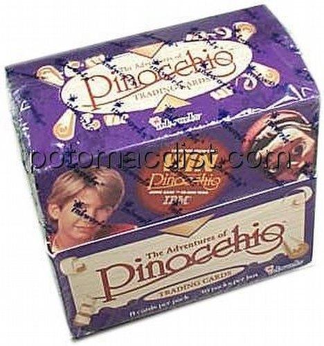 Adventures of Pinocchio Trading Cards Box