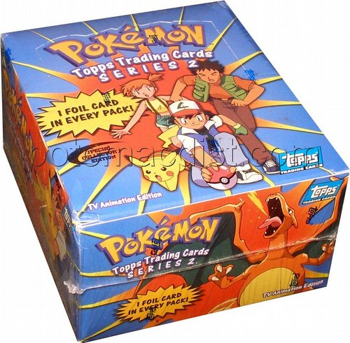 Pokemon TV Animation Series 2 Cards Box [Topps/Special Collectors Ed.]