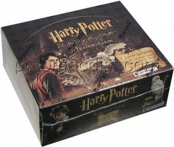 The World of Harry Potter in 3-D Trading Cards Box