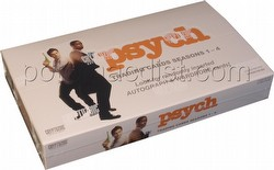 Psych Seasons 1 - 4 Trading Cards Box