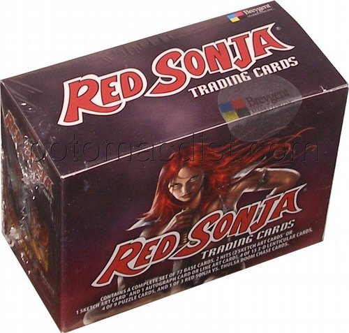 Red Sonja Trading Cards Collector