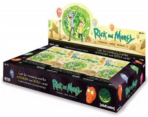 Rick and Morty Season 2 Trading Cards Box