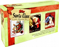 Santa Claus Trading Card Holiday Set Case [12 sets]