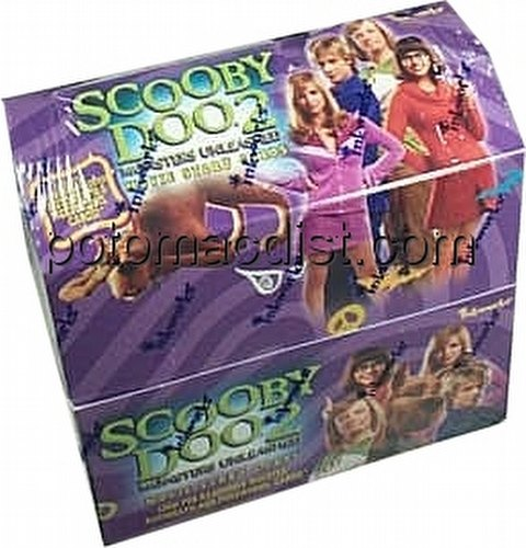 Scooby Doo 2 - Monsters Unleashed Trading Cards Box
