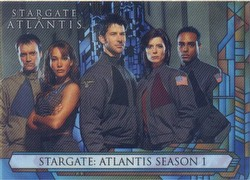 Stargate Atlantis Season 1 Trading Cards Binder Case [4 binders]