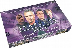 Stargate SG-1 Season 7 Trading Cards Box [United Kingdom Version]