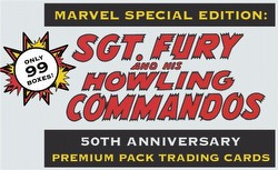 Sgt. Fury and The Howling Commandos 50th Anniversary Premium Pack Trading Cards Box