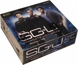 Stargate Universe Season 1 Trading Cards Box