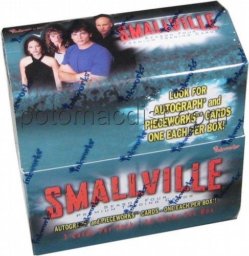 Smallville Season 4 Trading Cards Box