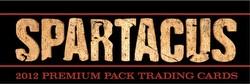 2012 Spartacus Premium Pack Trading Cards Binder Case [4 binders]