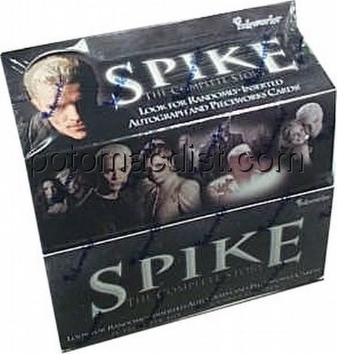 Spike: The Complete Story Premium Trading Cards Box
