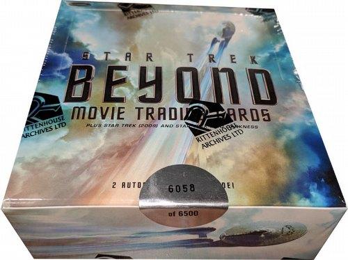Star Trek: Beyond Movie Trading Cards Box
