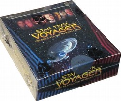 Star Trek: Voyager Heroes & Villains Trading Cards Box