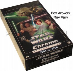 Star Wars Chrome Perspectives Jedi vs. Sith Trading Card Box [Hobby]