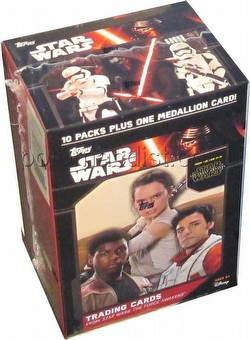 Star Wars The Force Awakens Trading Cards Blaster Box
